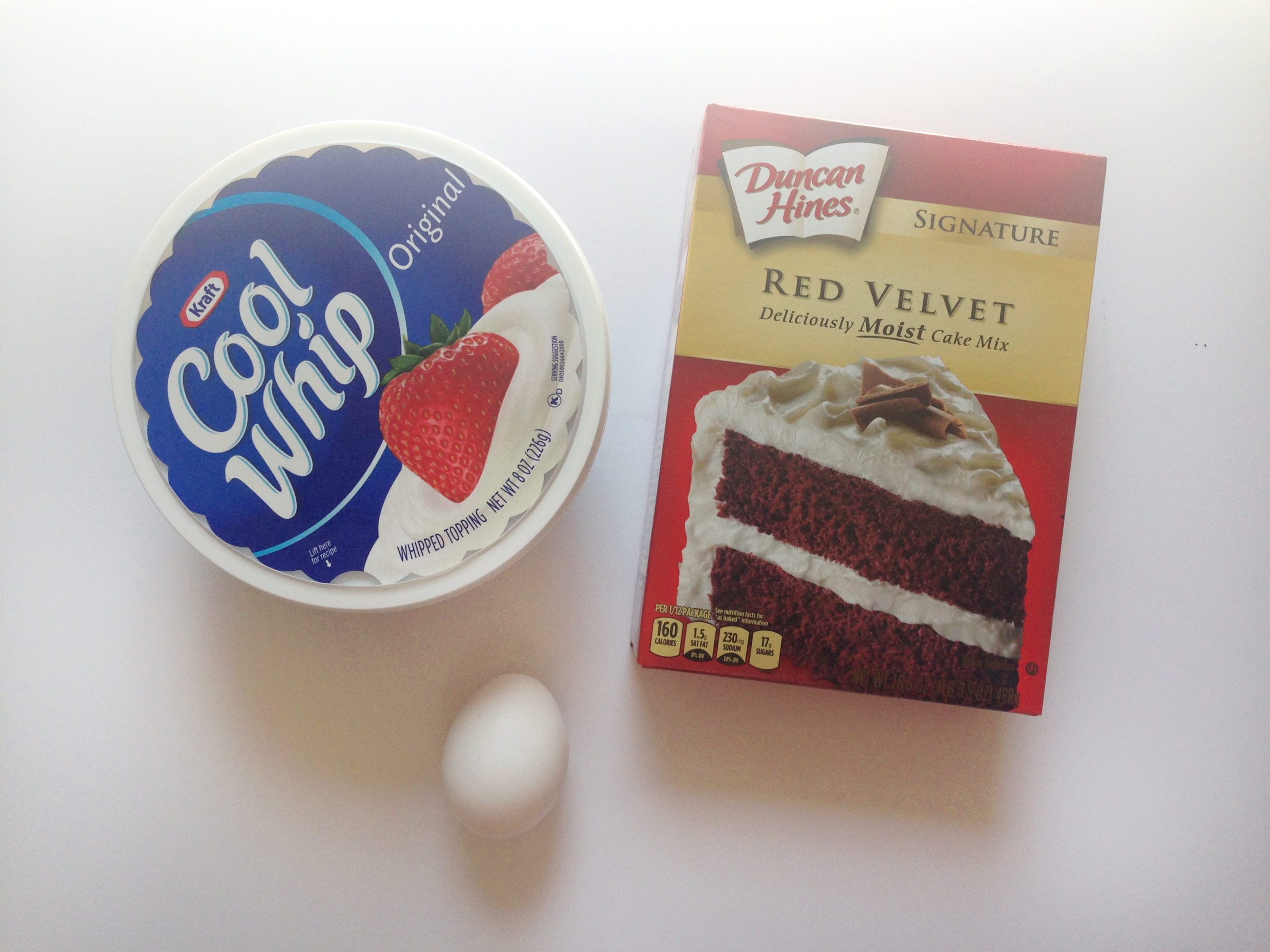 Red Velvet Cake Mix Cookies With Cool Whip