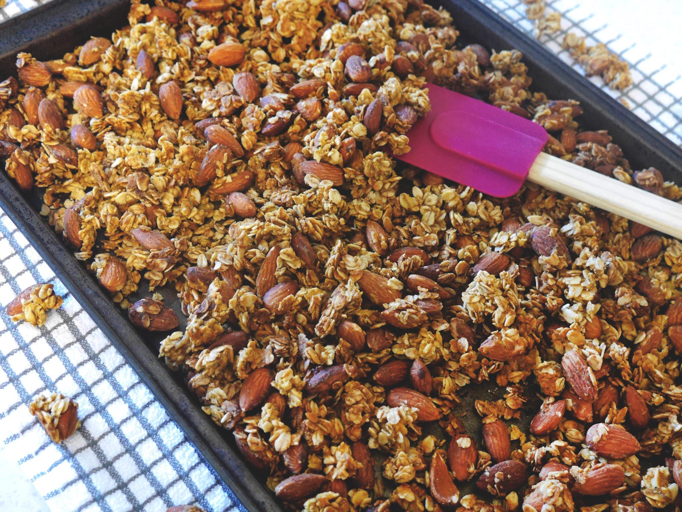 Delish Pumpkin Spice Granola