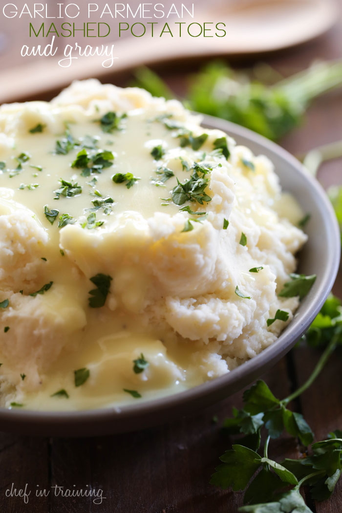 Garlic-Parmesan-Mashed-Potatoes-and-gravy-1