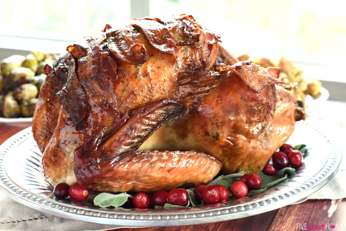 Maple-Glazed-Turkey-with-Bacon-and-Sage-Butter-Thanksgiving-Recipe-by-Five-Heart-Home_700pxHoriz
