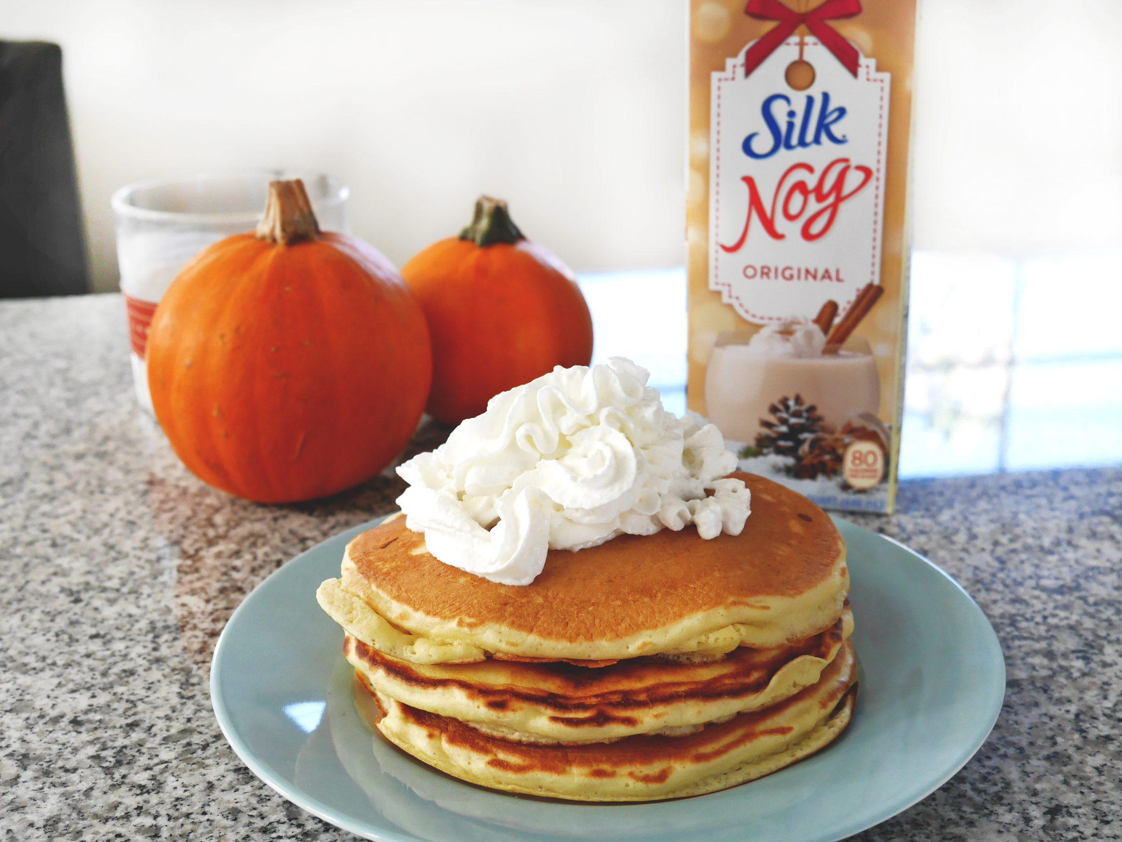 Silk Nog Pancake Recipe