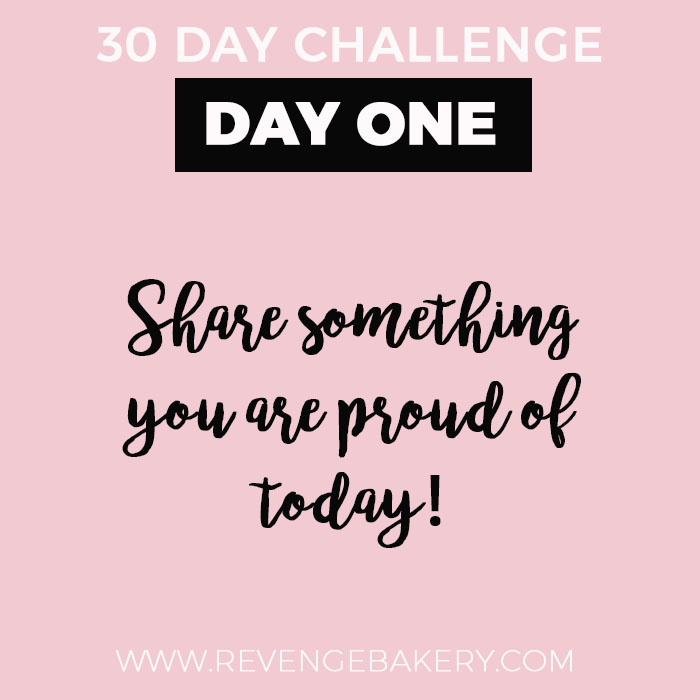 30 day self improvement challenge: Day One