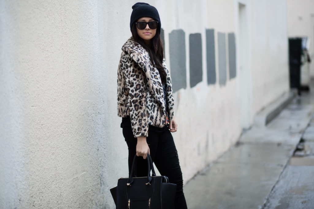Band TShirt & Leopard Print