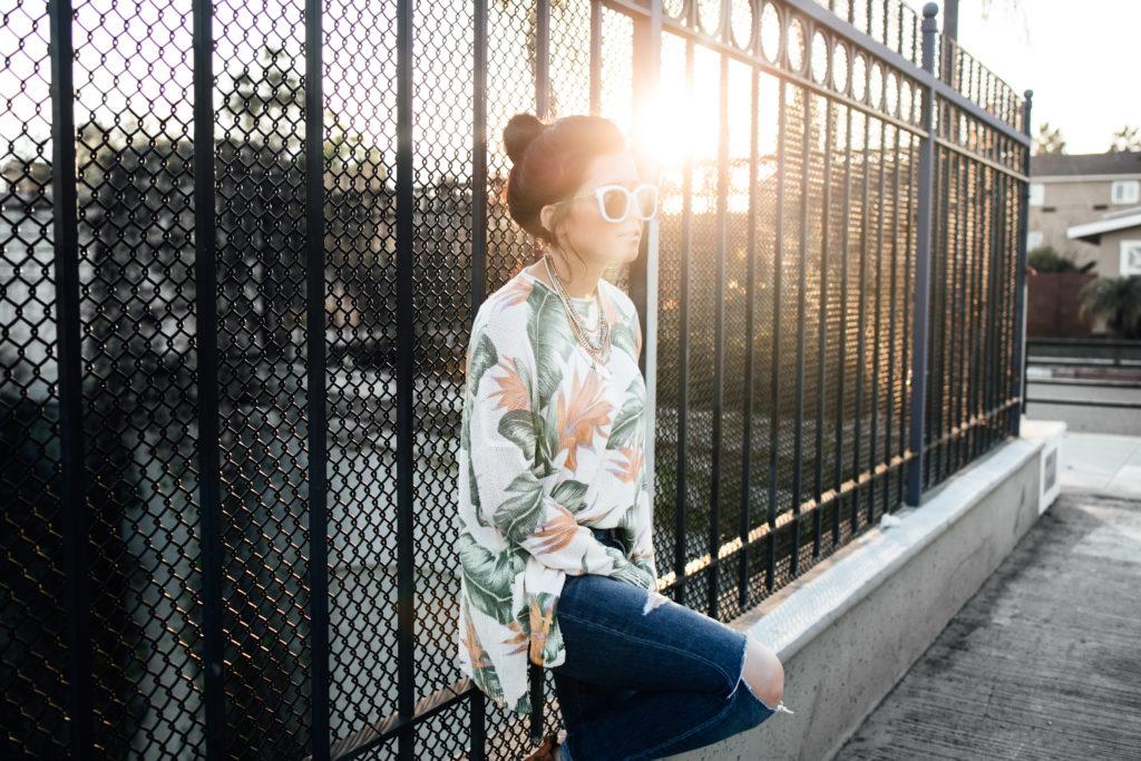Sunset Shoot Erin Aschow