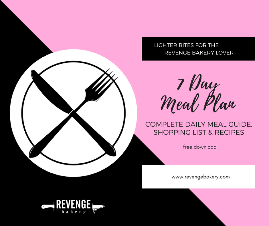 revenge bakery meal plan
