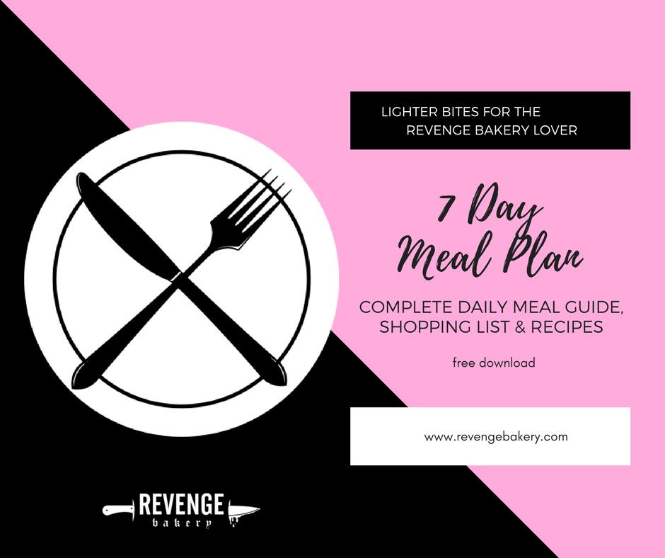 revenge bakery meal plan