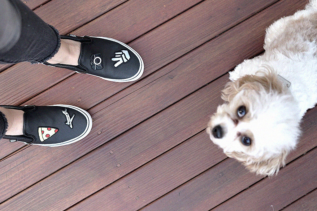 Revenge Bakery Lifestyle Blog DIY Patch Vans Shoes Project