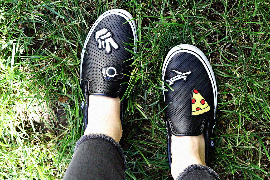 f266ef656ed DIY Patch Makeover for your Vans Tennis Shoes