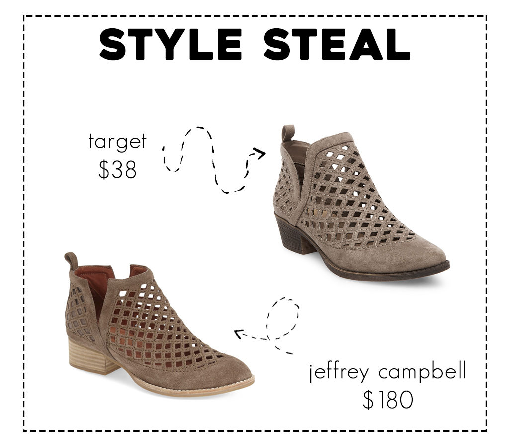 Jeffrey Campbell Taggart Dupe at Target