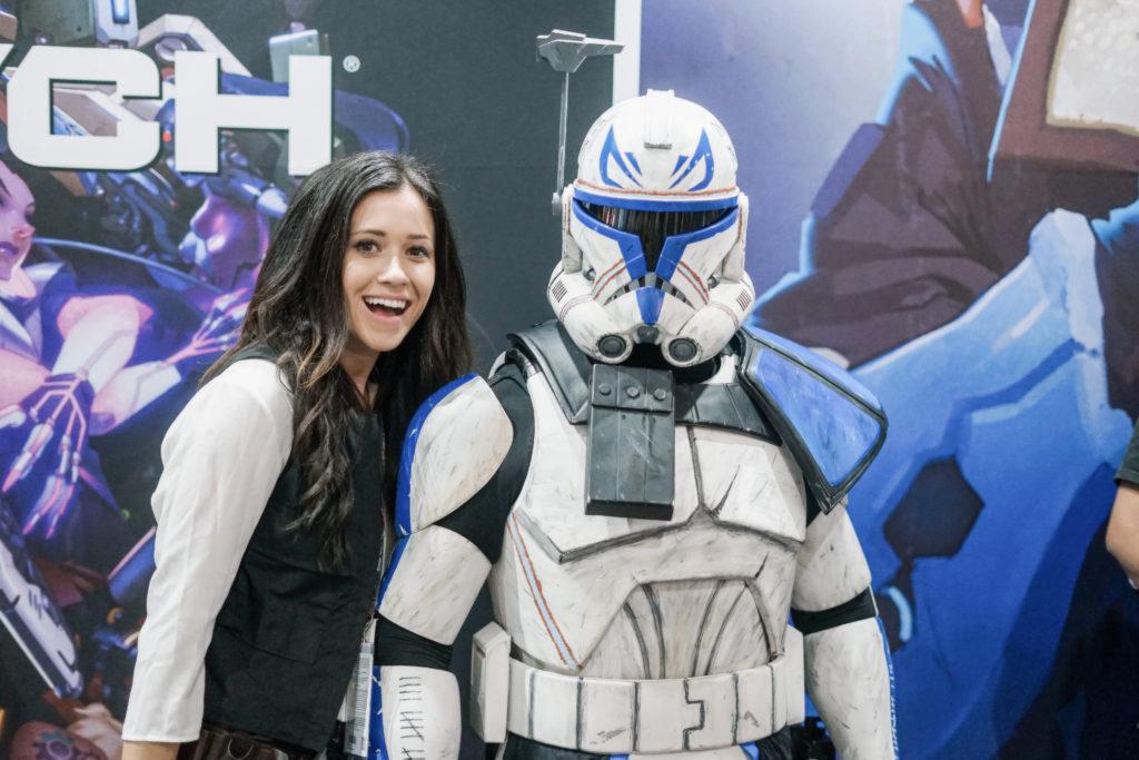 Nerd Alert: Comic-Con 2017 Erin Aschow Star Wars