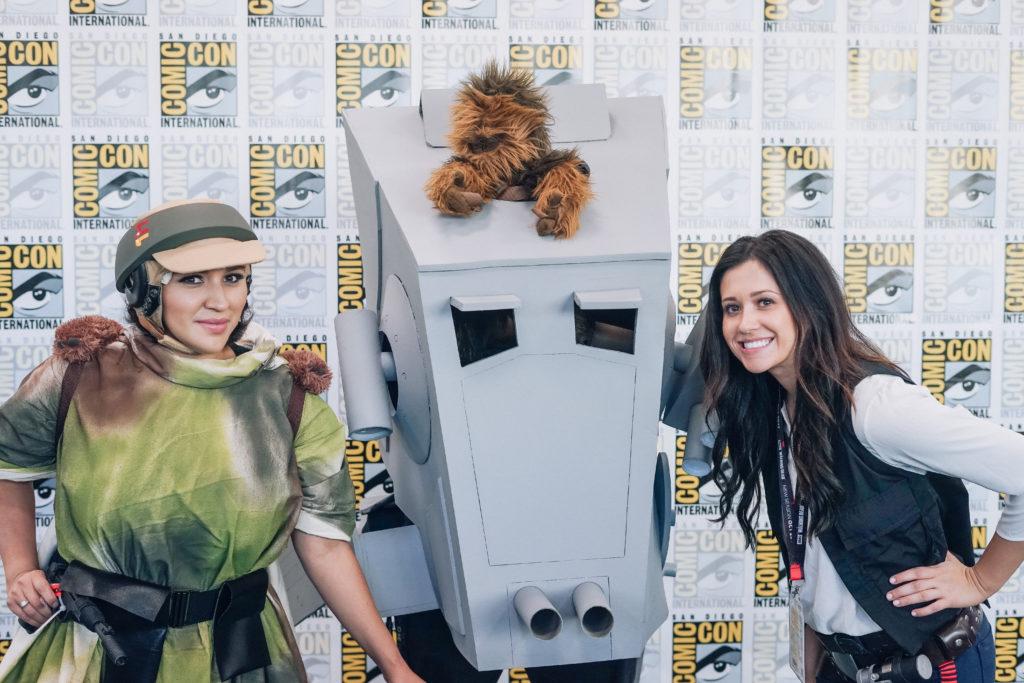 Nerd Alert: Comic-Con 2017 Erin Aschow Han Solo Cosplay Star Wars