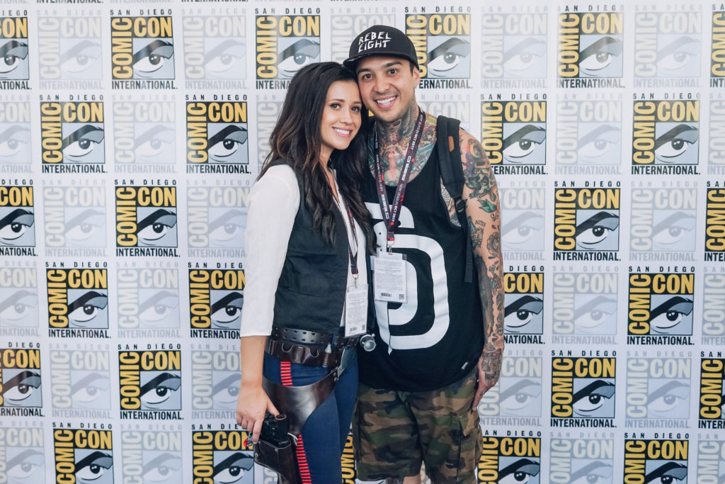 Nerd Alert: Comic-Con 2017 Erin Aschow and Tony Perry