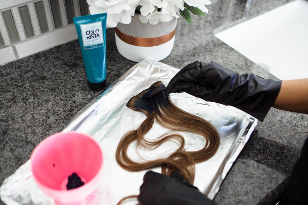 L'Oreal Paris Colorista Semi-Permanent for Brunette Hair, #Teal