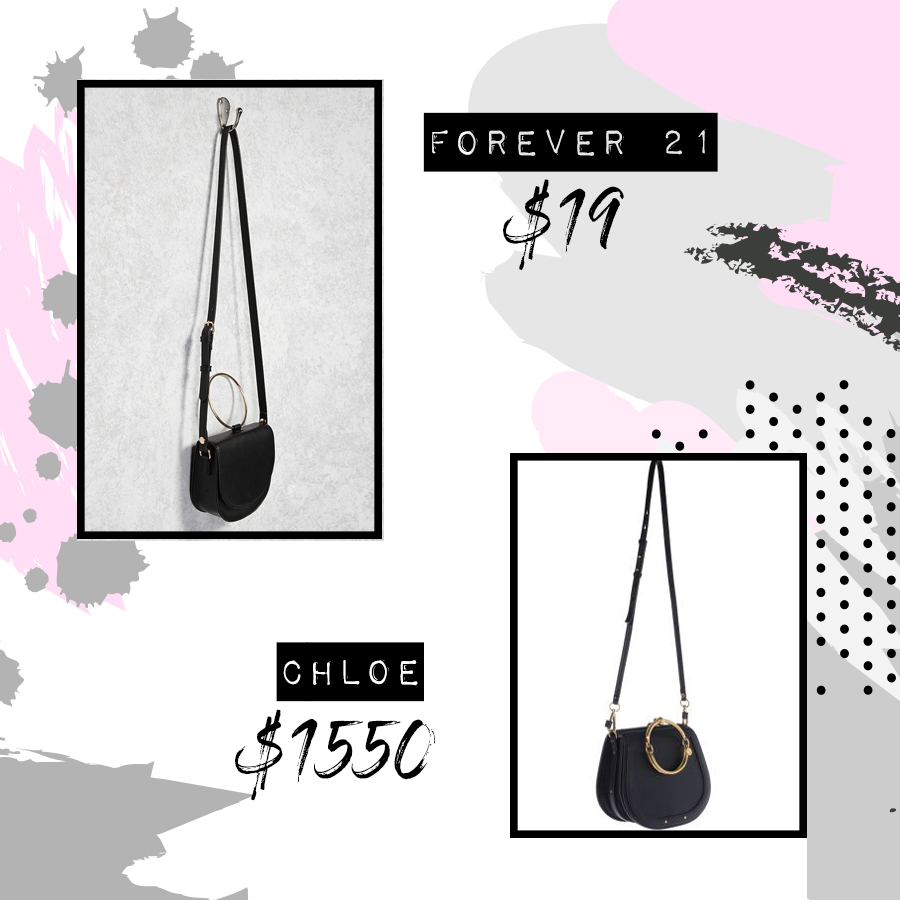 Forever 21 Blogger Style - Chloe Nile Knockoff Dupe from Forever 21