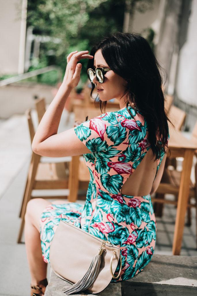 Open Back Tropical Dress - Show Me Your Mumu - Erin Aschow Fashion Blogger
