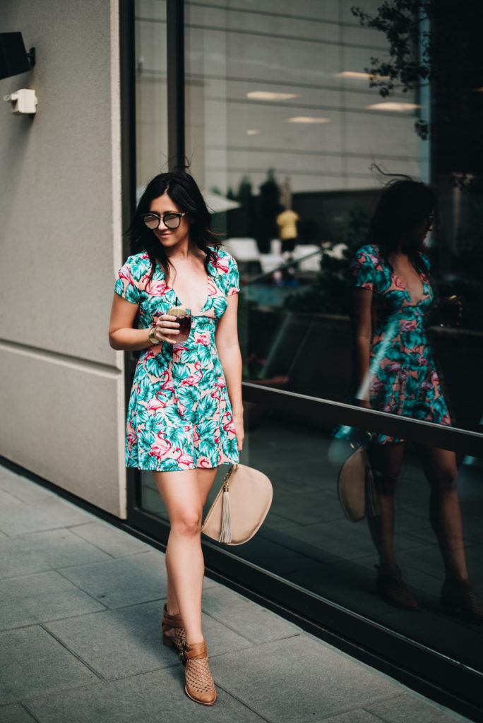 Fashion Blogger Erin Aschow Show Me Your Mumu Dress in Denver
