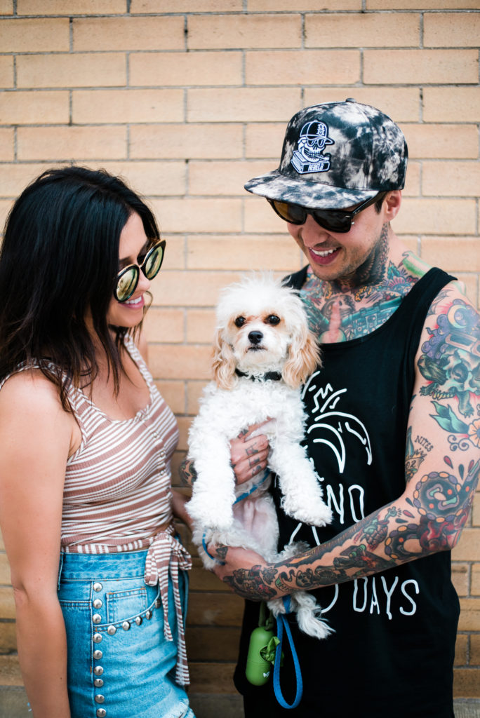 Erin Erin Aschow & Tony Perry with Doug the Dog - Long Distance Relationship Tips & Tony Perry with Doug the Dog - Date Night Ideas