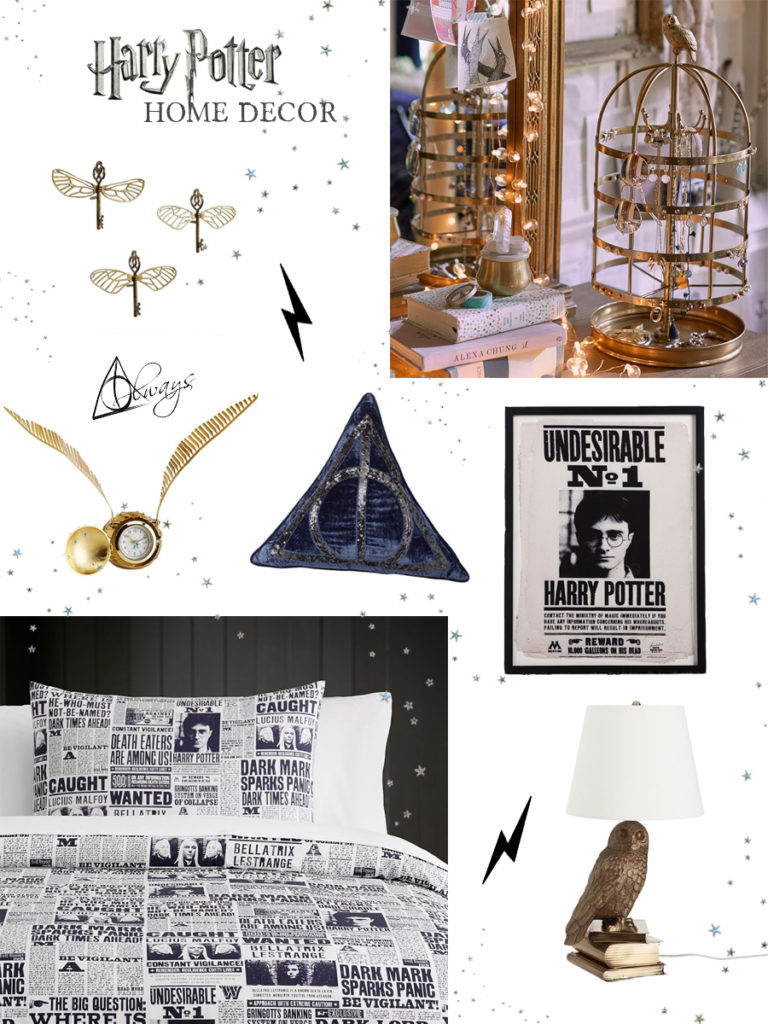 Harry Potter Home Decor from Pottery Barn