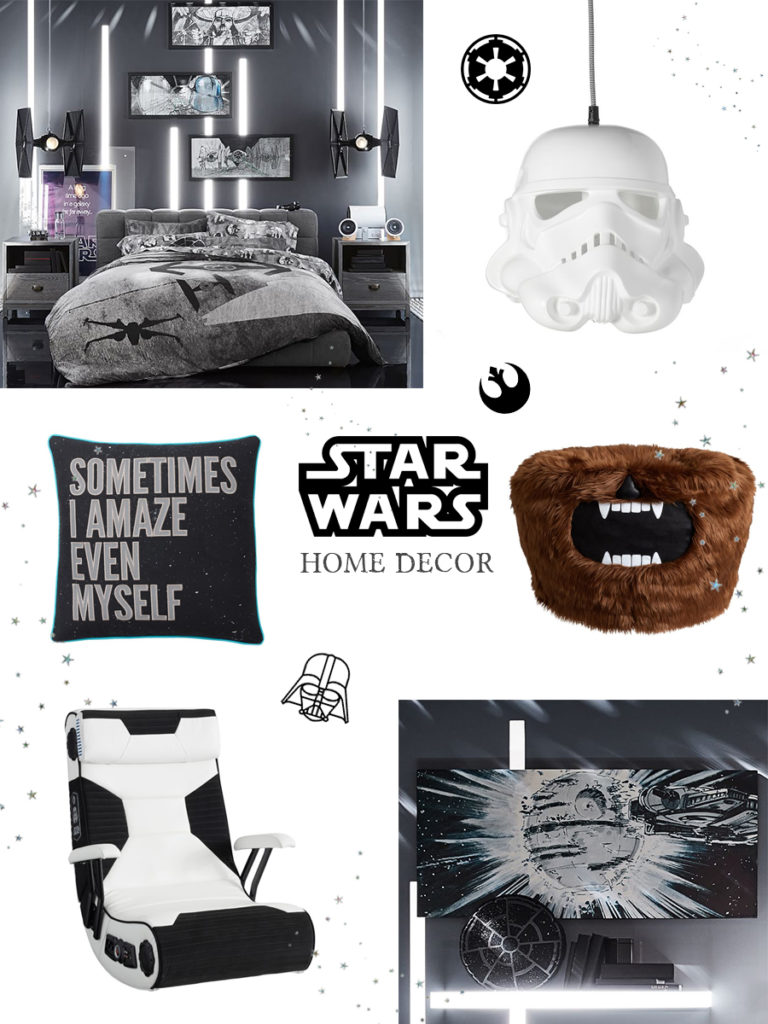 star wars home decor from pottery barn