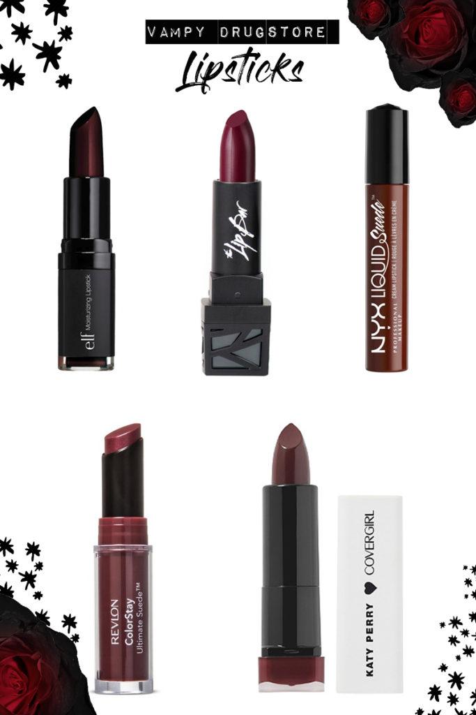 Vampy Drugstore Lipstick Fall 2017