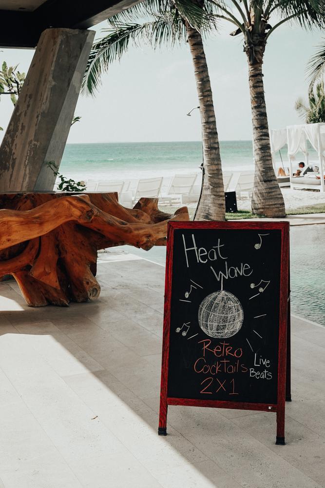 Retro Cocktails W Hotel Punta Mita