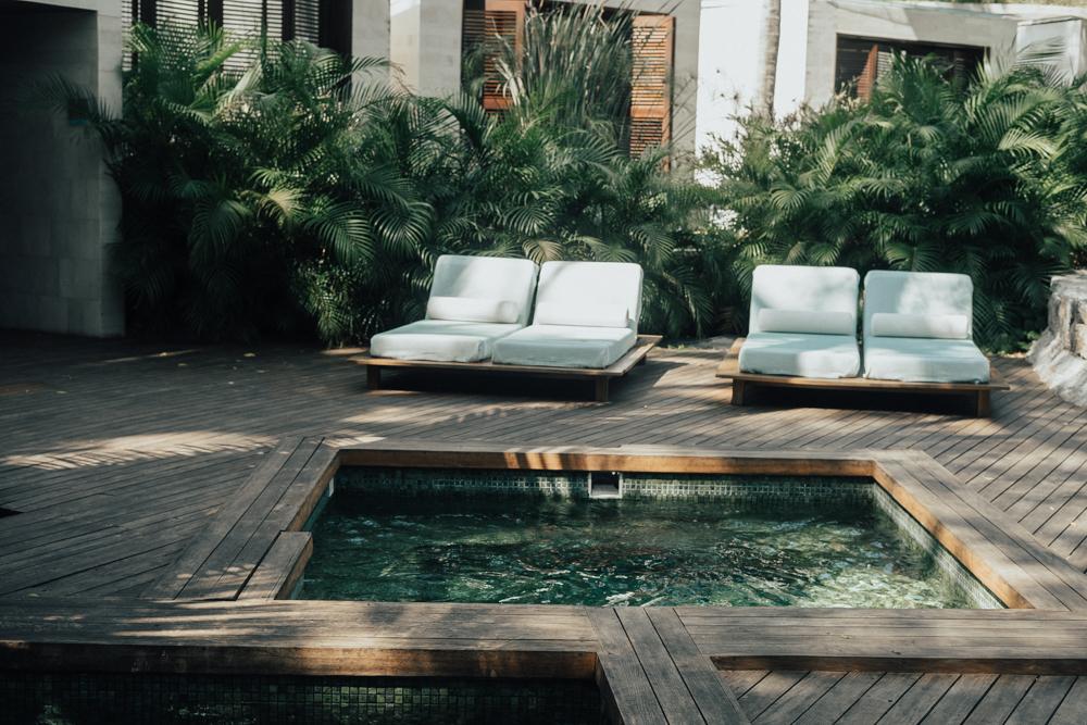 Erin Aschow Revenge Bakery Away Spa W Hotel Punta Mita plunge pool