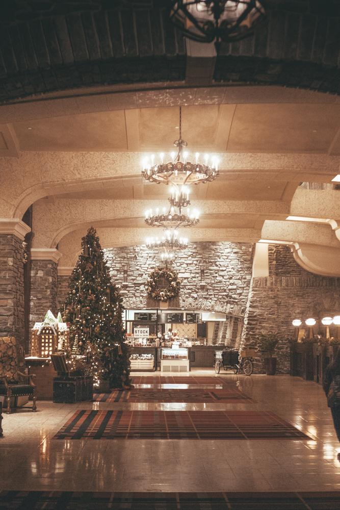 Fairmont Banff Alberta Canada lobby