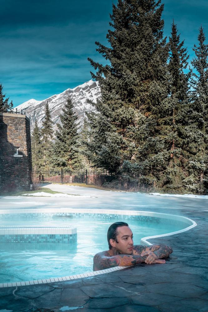 Fairmont Banff Alberta Canada Spa Pool Tony Perry