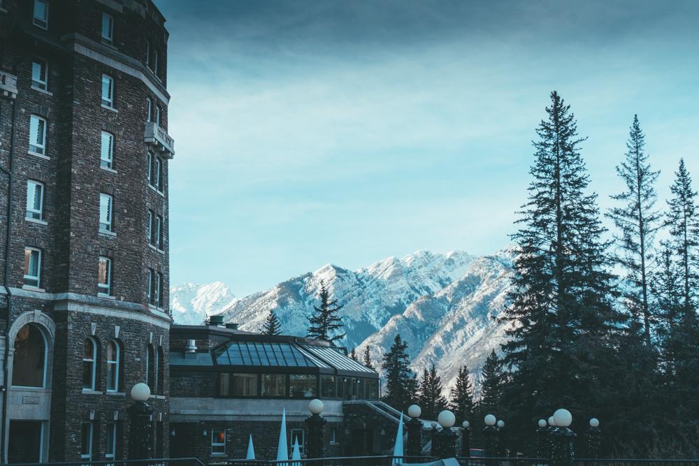 Fairmont Banff Alberta Canada