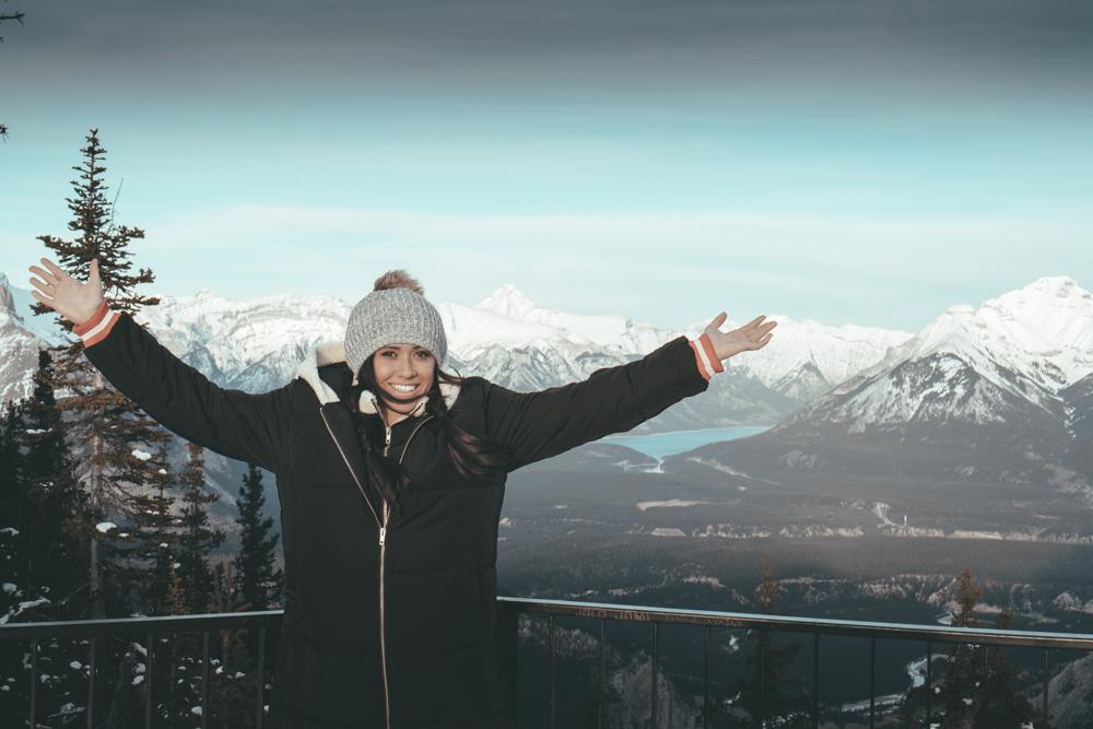 Fairmont Banff Alberta Canada gondola banff
