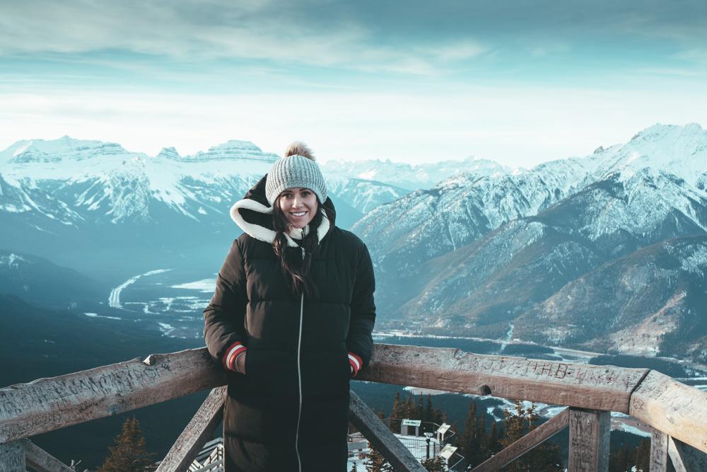 Fairmont Banff Alberta Canada banff lookout gondola