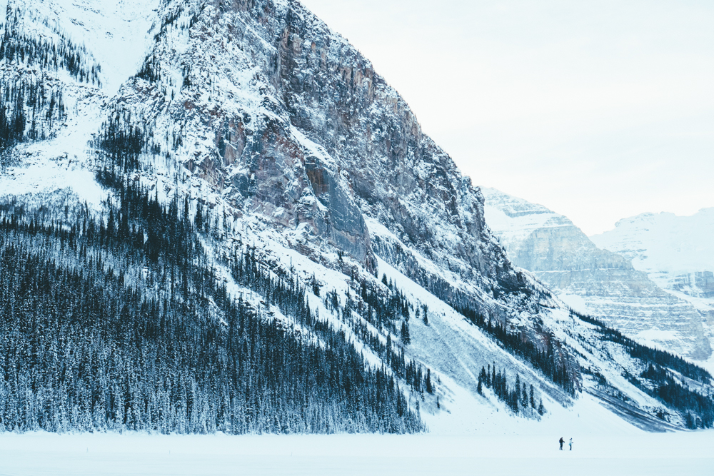 Erin Aschow Lifestyle Travel Blogger at the Fairmont Lake Louise Chateau