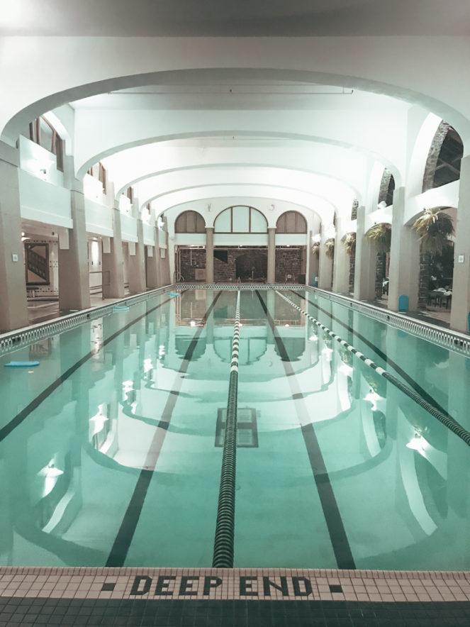 Fairmont Banff Alberta Canada indoor pool