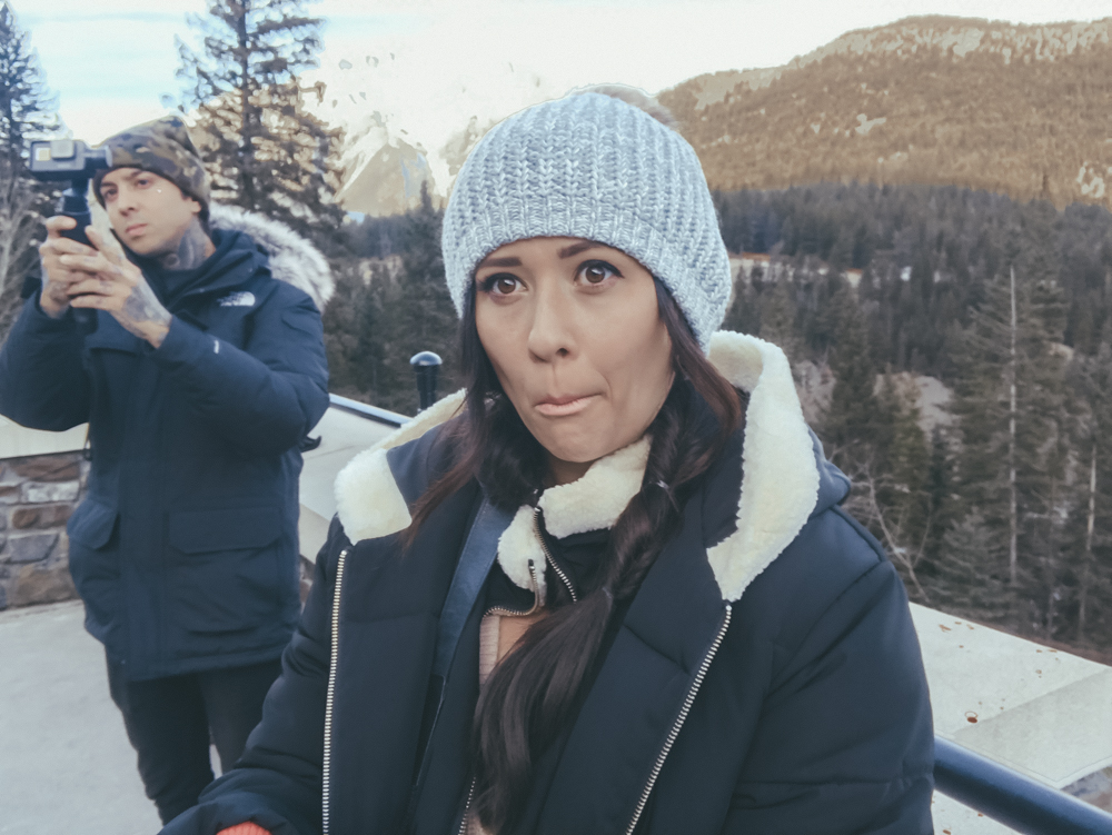 Fairmont Banff Alberta Canada Erin Aschow and Tony Perry