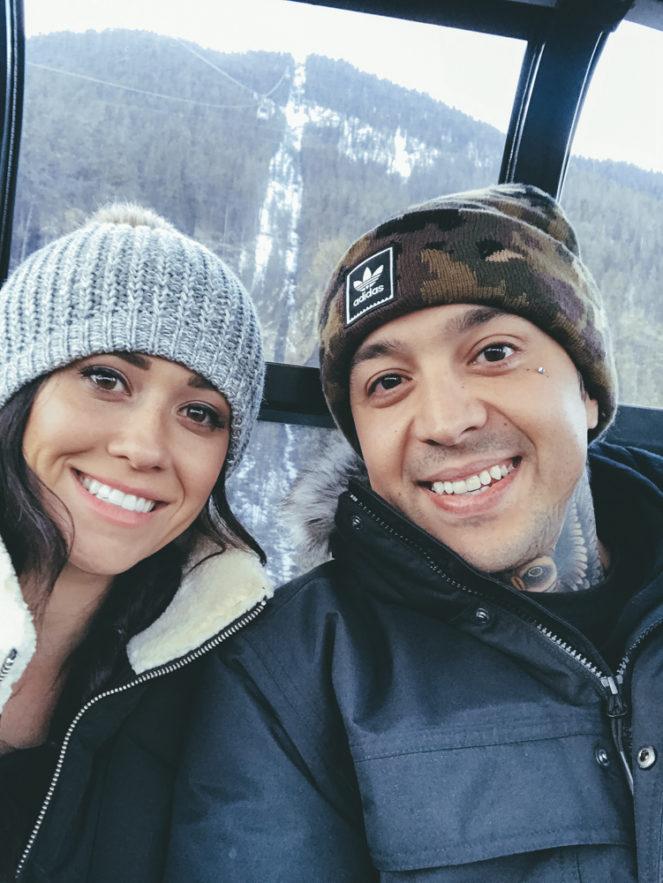 Fairmont Banff Alberta Canada Erin Aschow and Tony Perry Banff Gondola