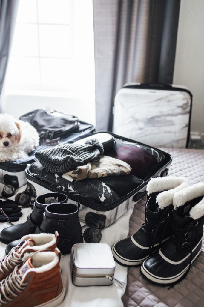 Marble Luggage - Travel Blogger packing tips
