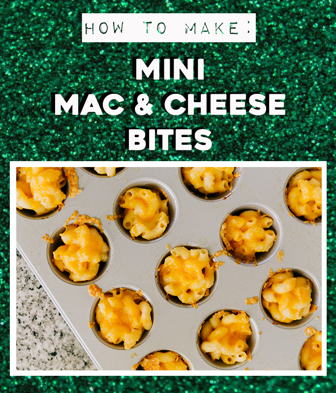 How To Make Mini Mac And Cheese Bites Recipe Instructions