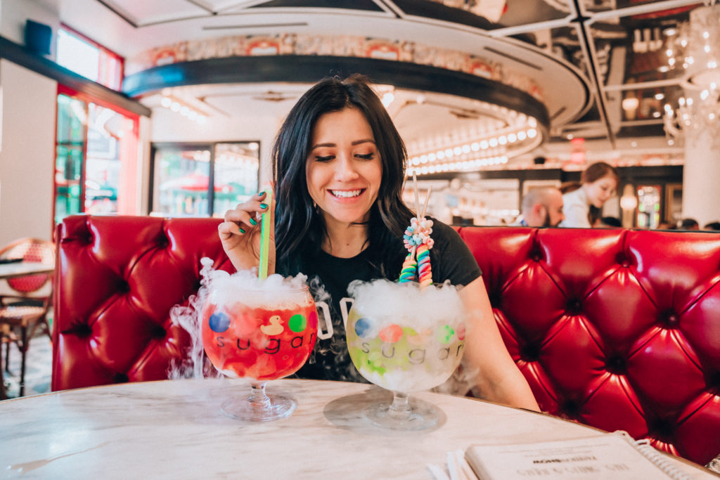 Erin Aschow's Ultimate Travel Guide to Las Vegas - sugar factory