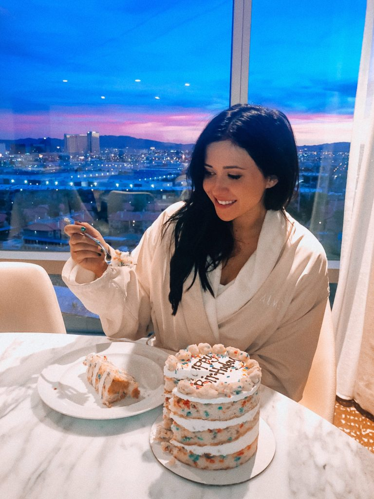 Erin Aschow's Ultimate Travel Guide to Las Vegas - Milk Bar Birthday Cake at the Palms