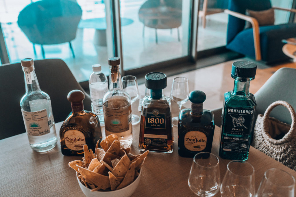 Travel Guide: Our Engagement Trip at Grand Velas Los Cabos - luxury all inclusive resort in Cabo San Lucas, Mexico  - Erin Aschow & Tony Perry tequila tasting