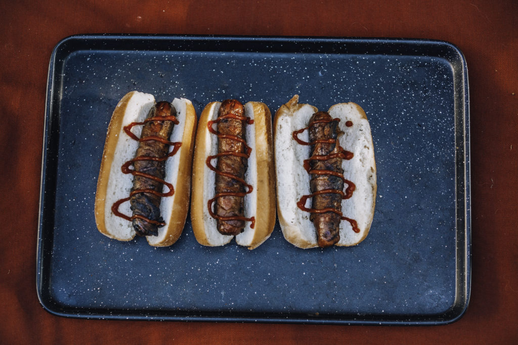 BBQ Bacon Wrapped Hot Dogs Recipe
