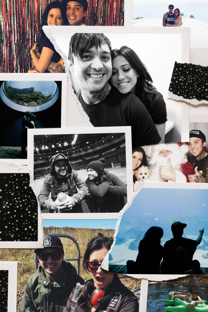 We're Engaged! Erin Aschow & Tony Perry engaged love story collage